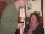 Bernadette McCarthy and Jackie Daley at Lynch's in Miltown